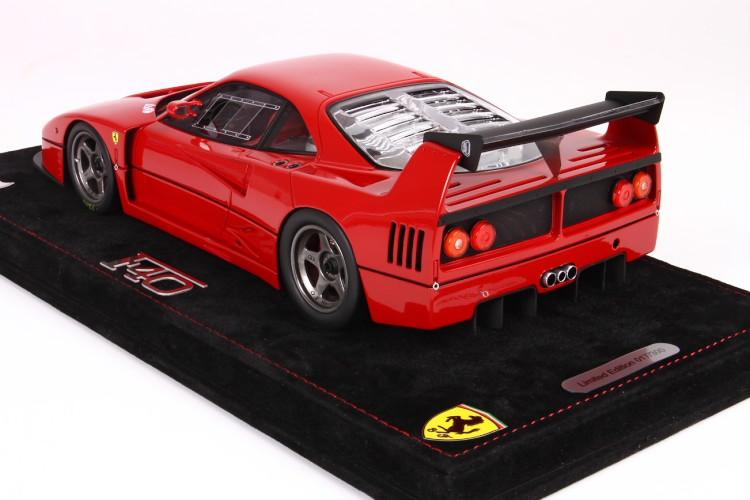 1987 1:18 BBURAGO Ferrari F40 Racing #1