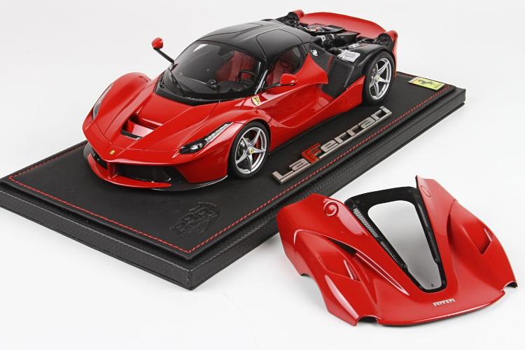 BBR 1/18 フェラーリ ラフェラーリ レッド リアボンネット開閉 159台限定 Ferrari LaFerrari OPEN