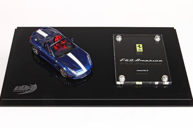 BBR 1/43 フェラーリ F60 アメリカ 特別台座 10台限定Ferrari F60 AmericaF12 ベルリネッタ