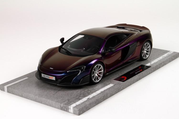 BBR 1/18 マクラーレン 675LT 2015 カメレオン 24台限定 McLaren 675LT