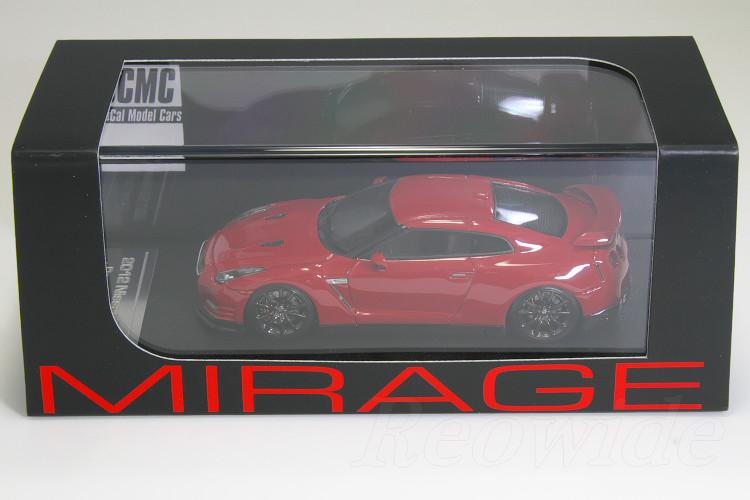 HPI 1/43 #8320 「SoCal Model Cars」 日産 R35 GT-R プレミアム レッド 左ハンドル 80台限定 US仕様