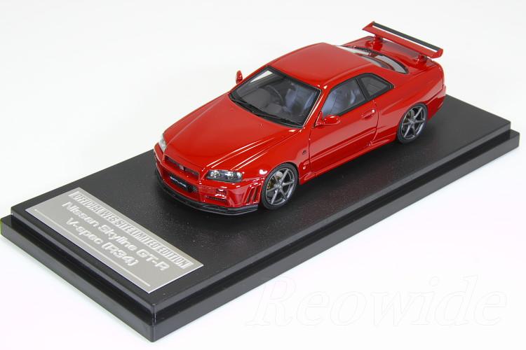 人気特価激安 HPI 1/43 日産 日産 スカイライン GT-R スカイライン V-spec (R34) レッド 150台限定 150台限定, トヨサカシ:710ab769 --- canoncity.azurewebsites.net