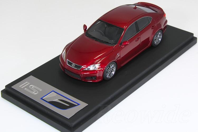 HPI 1/43 #8412 レクサス IS F レッド 海外限定モデル