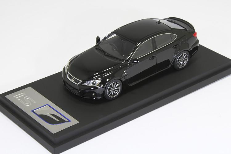 <中古品>HPI 1/43 レクサス IS F ブラック 海外限定モデル ISF