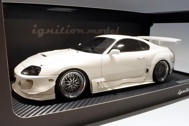 イグニッション 1/18 トヨタ スープラ RZ JZA80 ホワイトignition TOYOTA Supra BBS Wheels