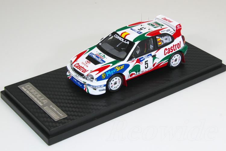 イグニッション 1/43 トヨタ カローラ WRC #5 1998 ニュージーランド