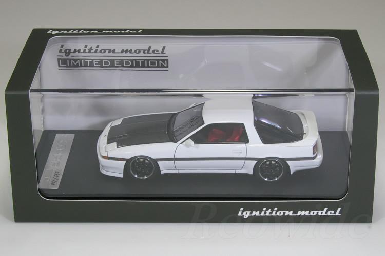 イグニッション 1/43 トヨタ スープラ 3.0 GT A70 ホワイト / カーボンボンネット 100台限定