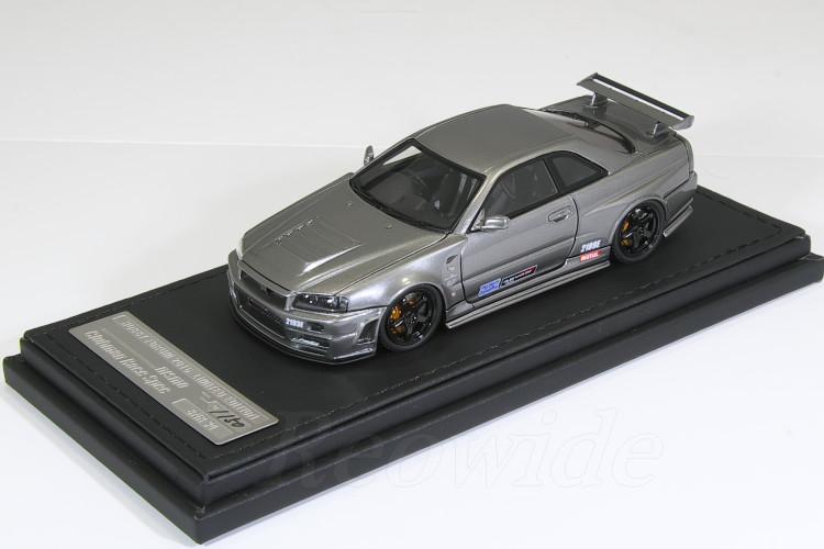 イグニッション 1/43 NISMO Omori Factory CRS (大森ファクトリー) 150台限定 ホビーフォーラム2016 限定モデル 日産 R34 スカイライン GT-R