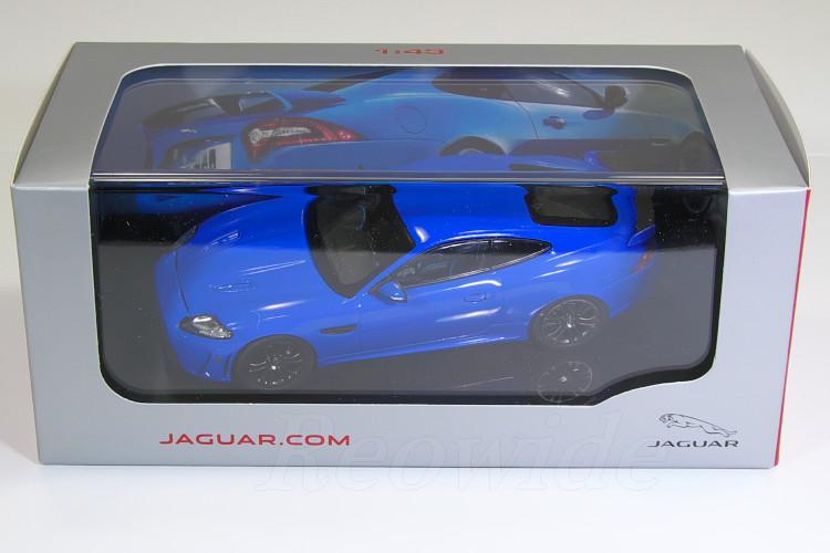 ixo 1/43 ジャガー XKR-S フレンチ・レーシング・ブルー