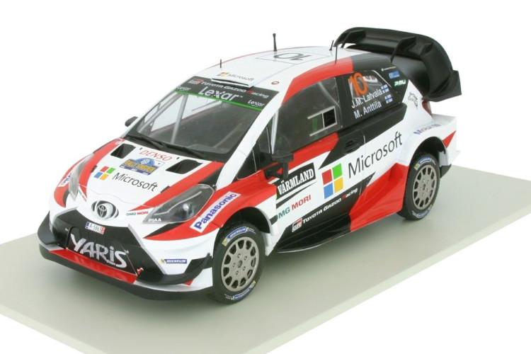 ixo 1/43 トヨタ ガズーレーシング ヤリス WRC スウェーデンラリー 2017 Toyota Yaris WRC Rally Sweden 2017 Jari-Matti Latvala / Miikka Anttila # 10 Altaya IXO GAZOO Racing GR