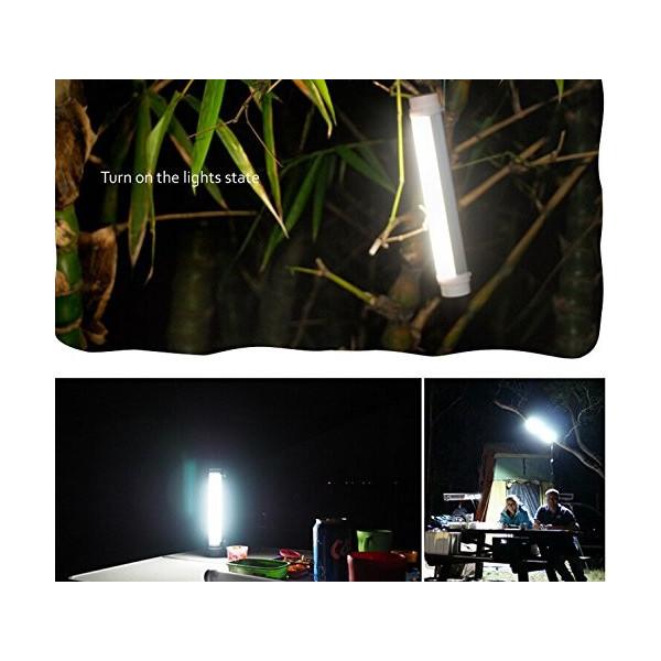 Q6 充電式 LEDフラッシュライト ポータブル 多機能4レベル調整可能なLEDランプ/バッテリー内蔵の懐中電灯「黒