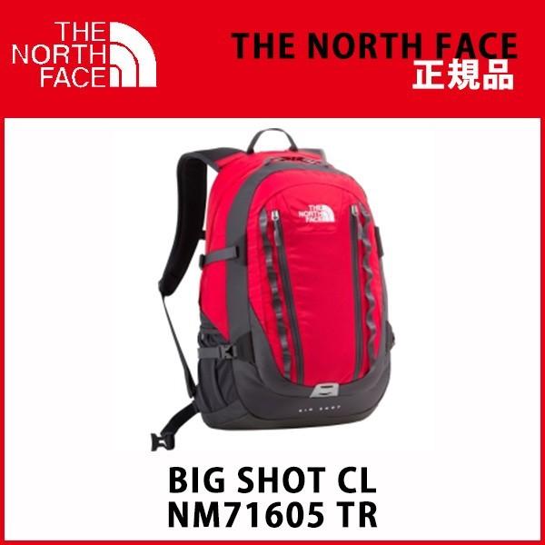 THE NORTH FACE ノースフェイス リュック ビックショット CL BIG SHOT CL NM71605 TR 32リットル
