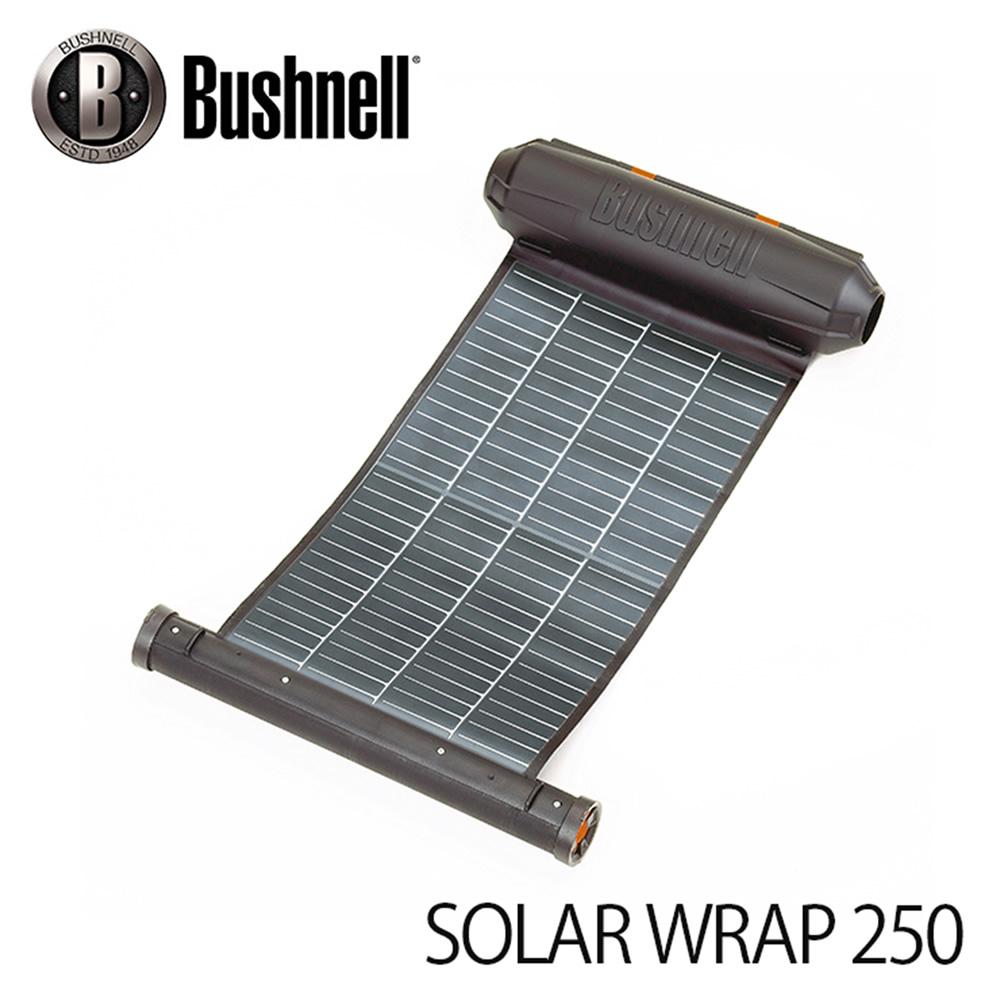 携帯型ソーラーパネル ブッシュネル ソーラーラップ250 (日本正規品) Bushnell SOLAR WRAP 250 マニアックなプレゼントにも最適