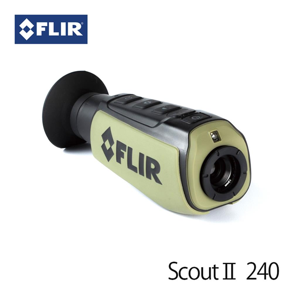 赤外線サーマルビジョン フリアー スカウトII240 (日本正規品) FLIR ScoutII 240 サーマルカメラ マニアックなプレゼントにも最適