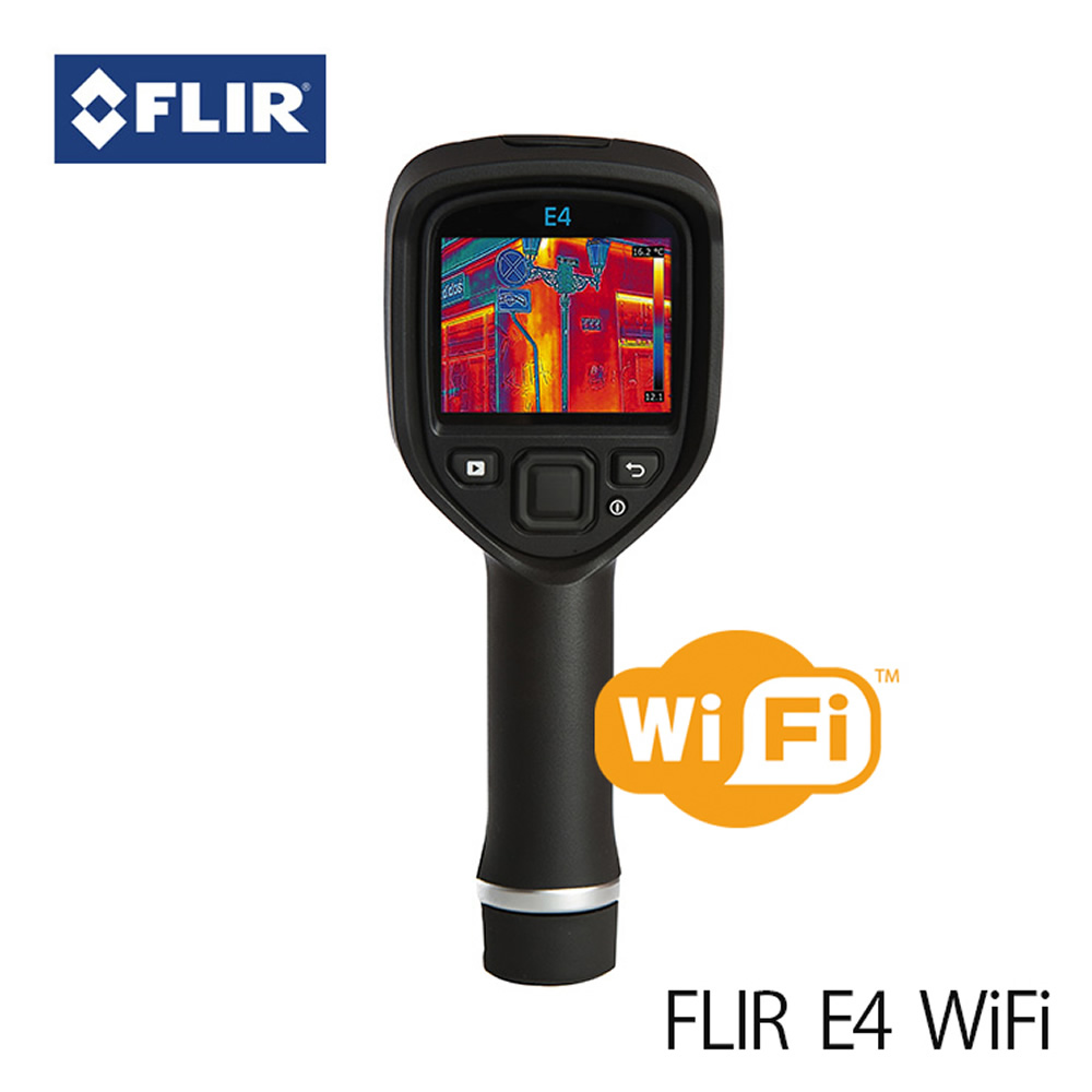 赤外線サーモグラフィ フリアー E4 (日本正規品) WiFi対応 FLIR E4 サーモグラフィカメラ マニアックなプレゼントにも最適