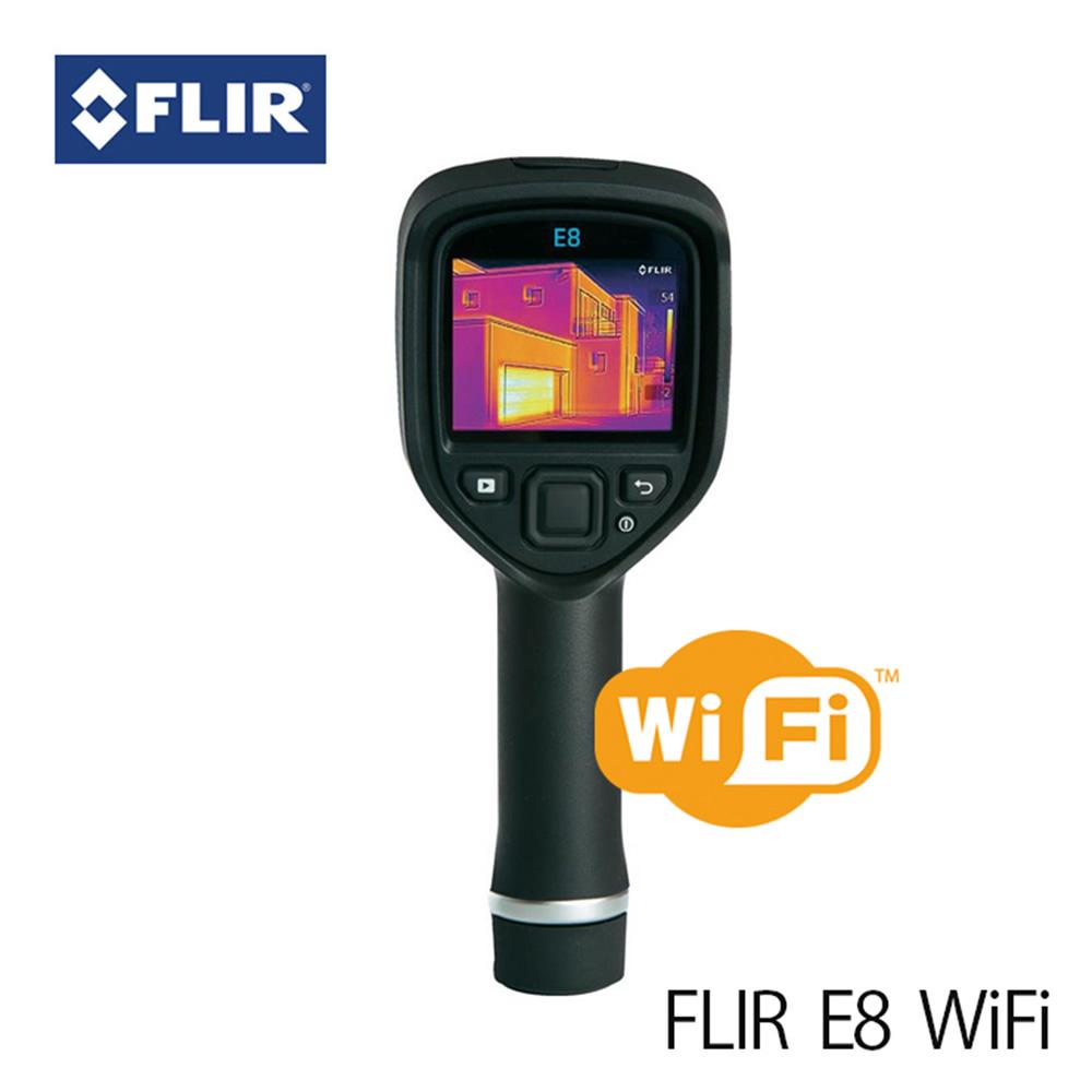 赤外線サーモグラフィ フリアー E8 (日本正規品) WiFi対応 FLIR E8 サーモグラフィカメラ マニアックなプレゼントにも最適