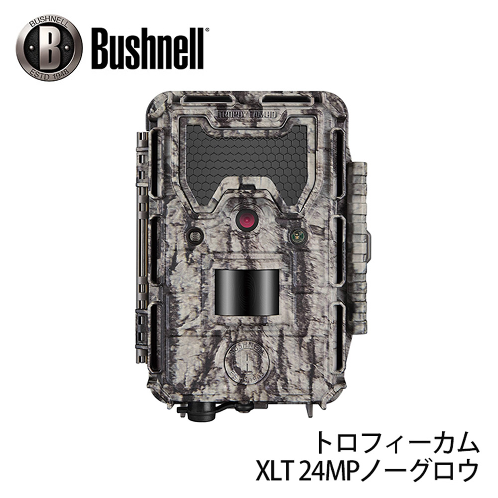 屋外型センサーカメラ トロフィーカム XLT 24MP ノーグロウ (日本正規品) トレイルカメラ ブッシュネル Bushnell マニアックなプレゼントにも最適