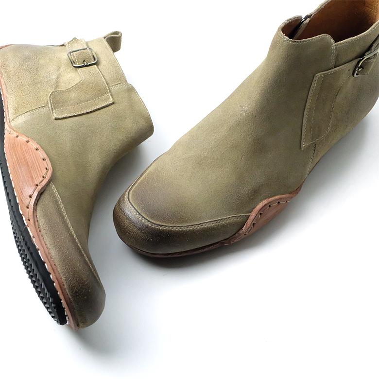 6fdd5cbf7c75 「threegenerations(スリージェネレーションズ)」革靴本革ミドル丈ブーツカジュアルメンズカジュアル