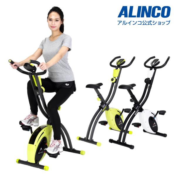 新品・未開封品フィットネスバイク アルインコ直営店 ALINCO基本送料無料AFB4428 クロスバイク4428エアロマグネティックバイク スピンバイク 健康器具 マグネットバイク