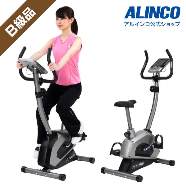 B級アウトレット品/バイクフィットネスバイク アルインコ直営店 ALINCO基本送料無料 AFB5215 エアロマグネティックバイク5215スピンバイク バイク ダイエット健康器具
