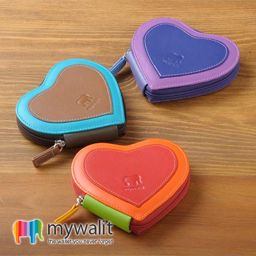 mywalit マイウォリット ハート型パース 財布 サイフ コインケース 小銭入れ メンズ レディース MY333