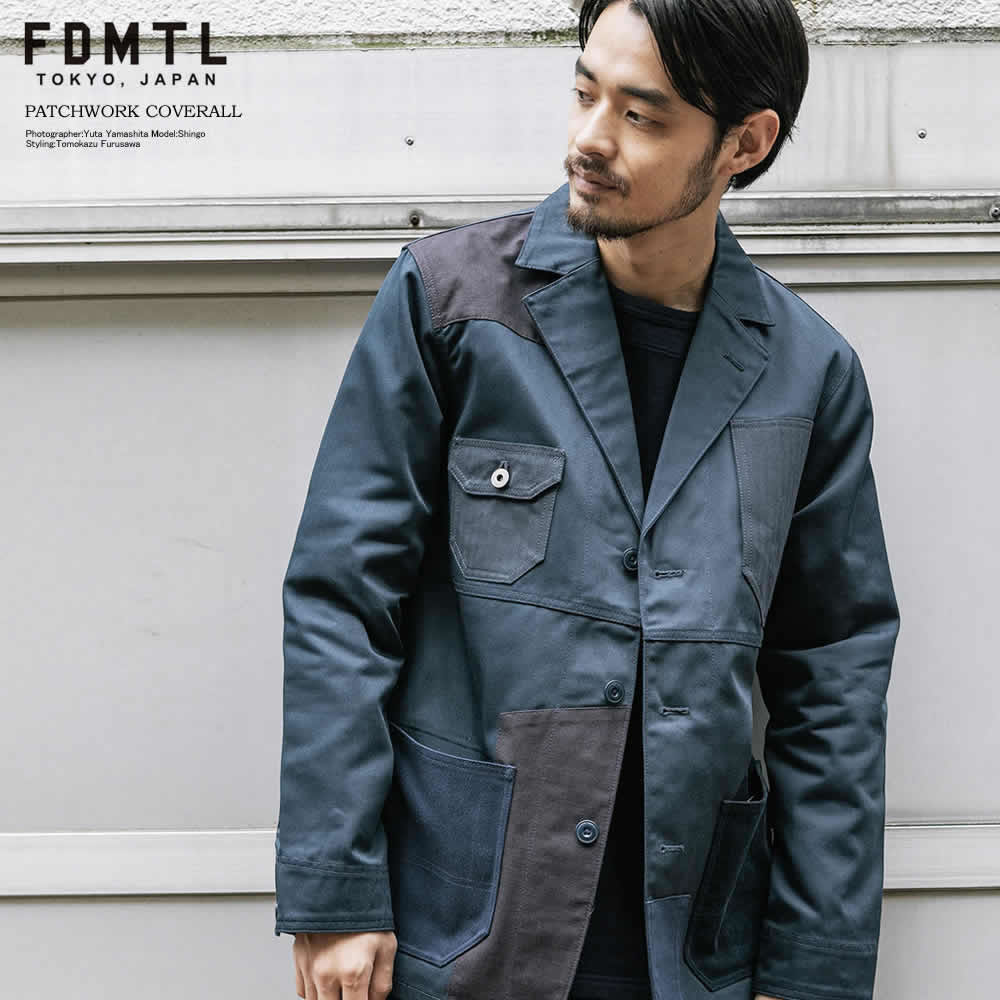 FDMTL/ファンダメンタル DICKIES PATCHWORK COVERALL
