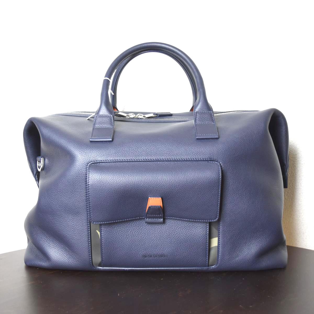 【新古品】Dior ディオール メンズ ボストンバッグ カバン 鞄 レザー 古着