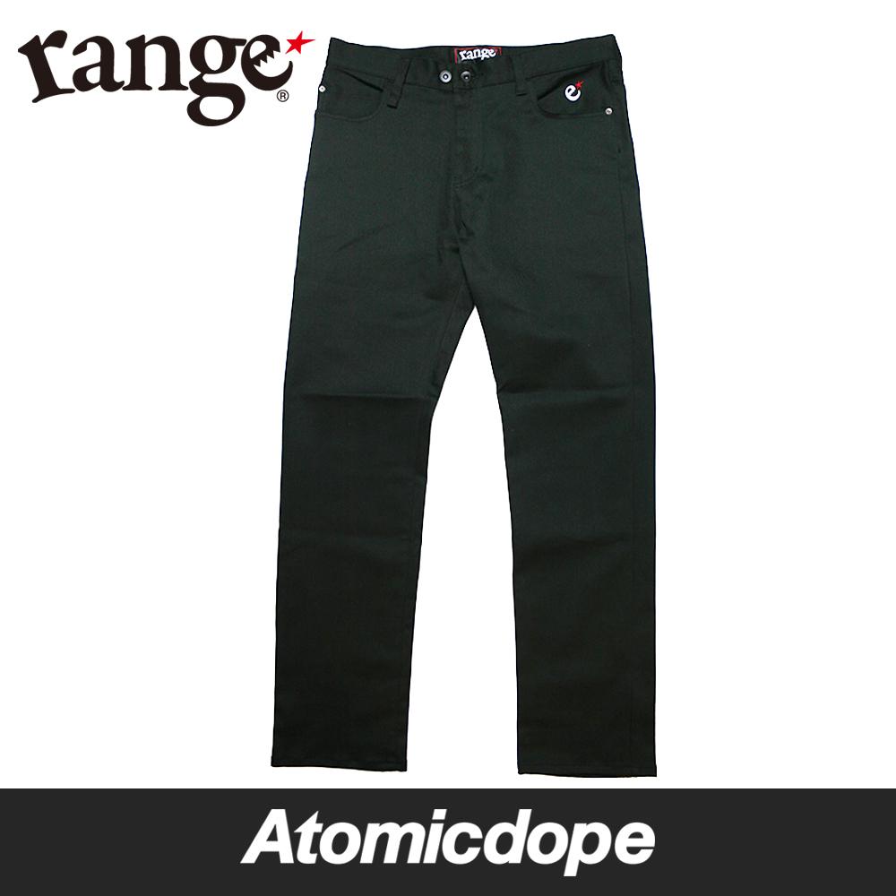 【送料無料】【range】denim pants Black デニム パンツ 黒 レンジ