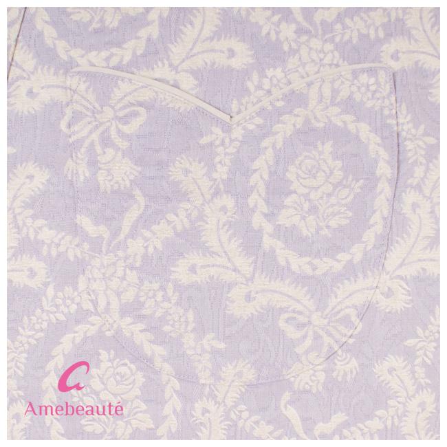 Arm Bothe lavender arabesque lady line apron ARX18/ cotton dress / fashion / wedding present
