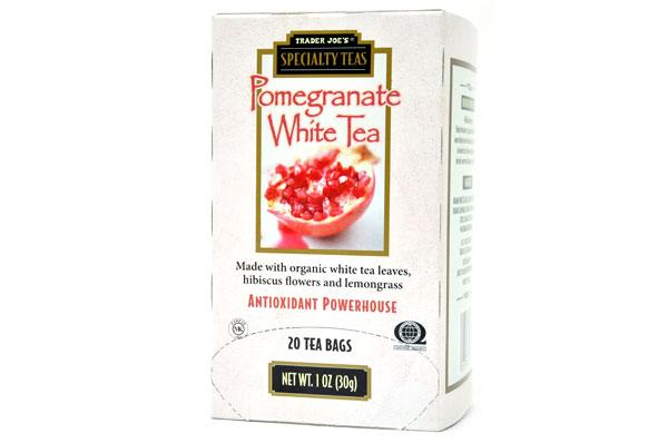 送料無料新品 LAの有名チェーン店トレーダージョーズのポメグラネート ザクロ オンライン限定商品 ホワイトティー Trader Joe's トレーダージョーズ ポメグラネートホワイトティー 20袋 1oz Tea Pomegranate White 30g