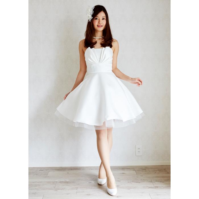 b06e701937c72 花嫁ドレス ミニドレス ウエディングドレス 即納ドレス 二次会ドレス パーティードレス  新作