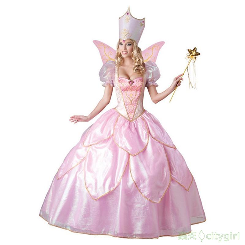 【CityGirl】ハロウィン コスプレ お姫様 可愛い姫 プリンセス 童話 舞台衣装 セクシー ワンピース 舞台劇 大人用 コスチューム コスプレ衣装 仮装 文化祭 忘年会 演出服 レディース パーティー用 女性用