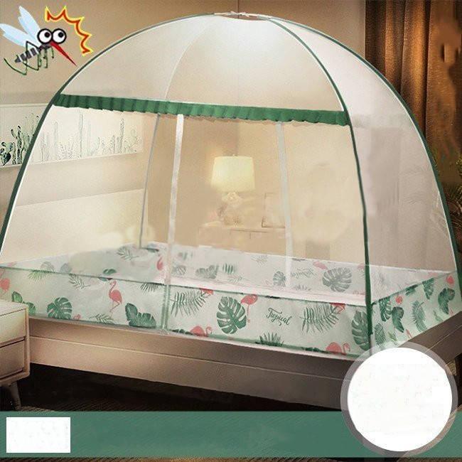 360°防蚊対策 ワンタッチ 蚊帳 蚊除け 本日限定 テント式 ムカデ 虫 折りたたみ式 世界の人気ブランド かや 虫除け生地 蚊 通気性いい キャンプ
