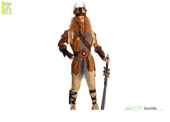 メンズ 88R0267 バイキング マン戦士 戦闘服 海賊 仮装 パーティ ハロウィン バイキングの男性サイズコスチューム♪☆AOIコレクションのコスプレシリーズ♪コスプレ 衣装 コスチューム