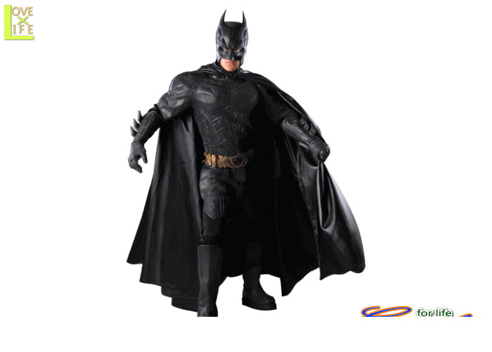 メンズ 56R311  バットマン Batman (The Dark Knight)仮装 パーティ 映画の撮影に使えるクオリィティ♪☆AOIコレクションのコスプレシリーズ♪コスプレ 衣装 コスチューム    大