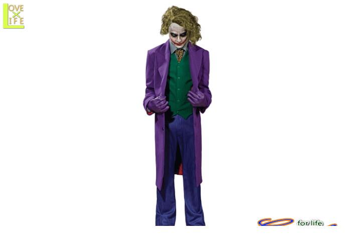 メンズ 56R215  ジョーカー グランド ヘリテイジ(The Dark Knight)仮装 パーティ バットマンの宿敵・ジョーカー♪☆AOIコレクションのコスプレシリーズ♪コスプレ 衣装 コスチューム    大