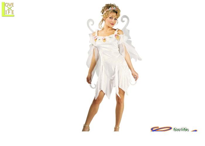【1 】スノー フェアリー 妖精【妖精】【天使】【翼】【仮装】【パーティ】【ハロウィン】雪の妖精の大人用サイズコス♪☆AOIコレクションのコスプレシリーズ♪【コスプレ】【衣装】【コスチューム】【】【 】【大 】【 】