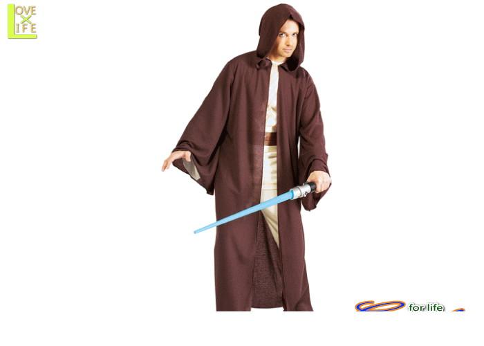 メンズ 56R089 Jedi デラックスジェダイ ローブ(スターウォーズ)STARWARS 仮装 パーティ 映画スターウォーズのジェダイ ローブ♪☆AOIコレクションのコスプレシリーズ♪コスプレ 衣装 コスチューム