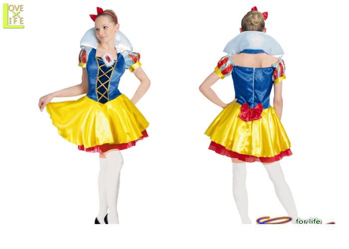 【レディ】【80R2065】スノーホワイト (白雪姫)【お姫様】【Disney】【ディズニー】【仮装】【パーティ】ディズニー映画を代表する白雪姫♪♪☆AOIコレクションのコスプレ♪【コスプレ】【衣装】【コスチューム】【】【 】【大 】