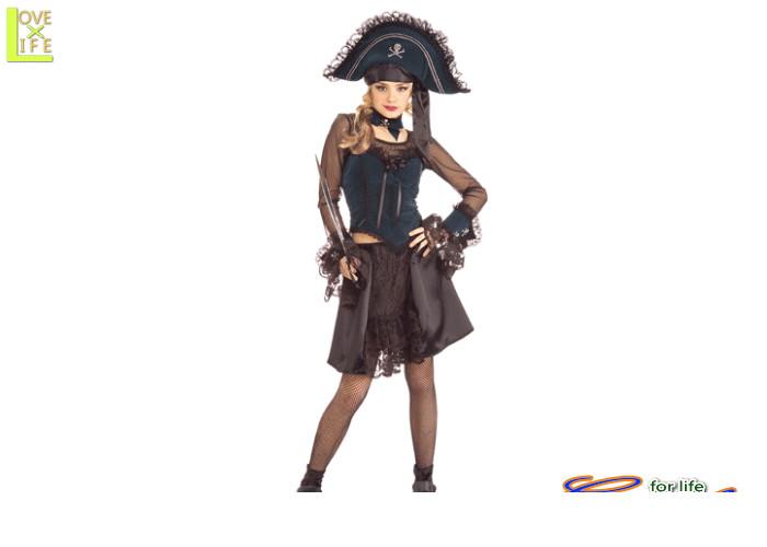 【1 】パイレーツ クィーン【海賊】【クィーン】【仮装】【パーティ】セクシーな女性用海賊の衣装♪☆AOIコレクションのコスプレシリーズ♪【コスプレ】【衣装】【コスチューム】【】【 】【大 】【 】【クイーン】