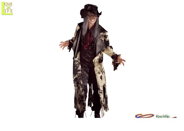 1  バッド ハッターゾンビ モンスター 仮装 パーティ ハロウィン 名前はパロディっぽいけどクールな男性サイズコス♪☆AOIコレクションのコスプレ♪コスプレ 衣装 コスチューム    大