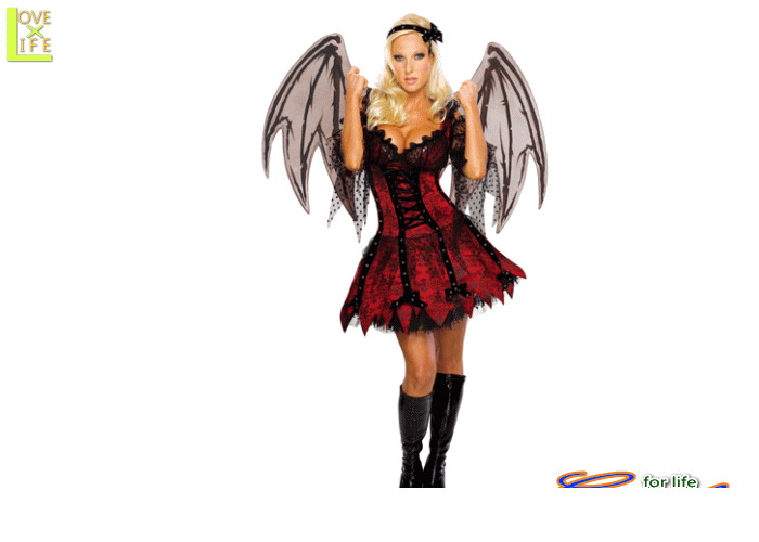 レディ 88R8667 ヴァンパイア フェアリー悪魔 バンパイア デビル 仮装 ハロウィン セクシーでゴシックなヴァンパイアのコス♪☆AOIコレクションのコスプレ♪コスプレ 衣装 コスチューム