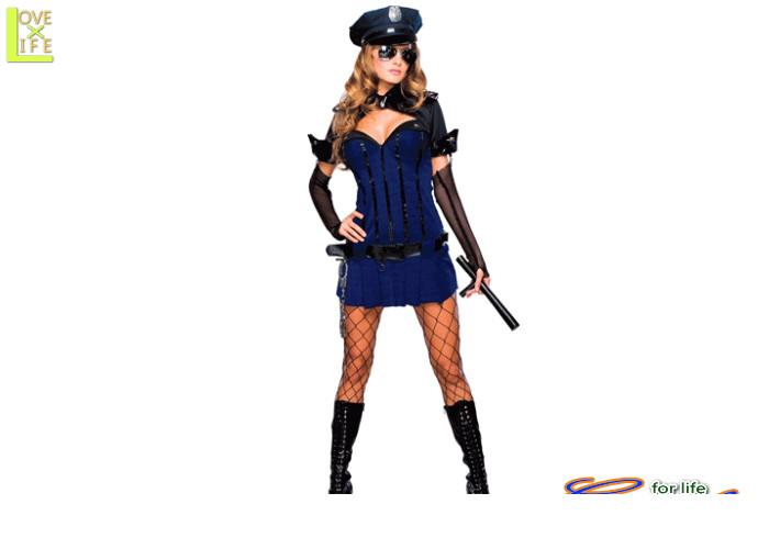 レディ 88R8729 ナイト ウォッチ警察 ポリス 婦人警官 仮装 パーティ セクシーでクールなポリスのコス♪☆AOIコレクションのコスプレ♪コスプレ 衣装 コスチューム    大