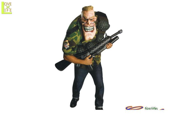 メンズ 88R9083 シーピーエル パニッシュメントソルジャー 兵隊 仮装 パーティ ハロウィン 厳ついソルジャーの大人サイズコス♪☆AOIコレクションのコスプレ♪コスプレ 衣装 コスチューム