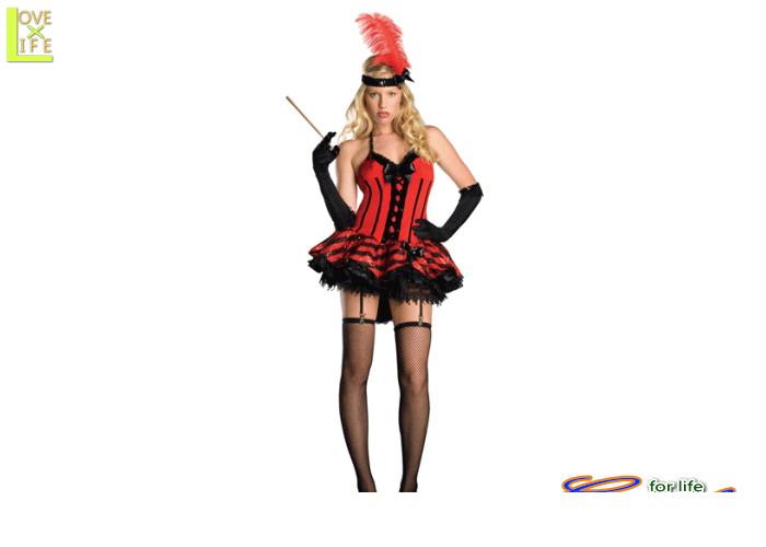 レディ 88R9133 キャバレーダンス アメリカ セクシー 仮装 パーティ オシャレでかわいい♪キャバレーダンサー♪☆AOIコレクションのコスプレ♪コスプレ 衣装 コスチューム    大
