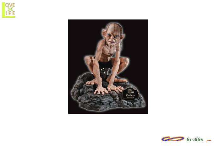 1  GOLLUM ゴラム フィギュア (ロードオブザリング)フィギュアオブジェ ロードオブザリング ゴラムの等身大フィギュア♪☆AOIコレクションのコスプレシリーズ♪コスプレ 衣装 コスチューム    大