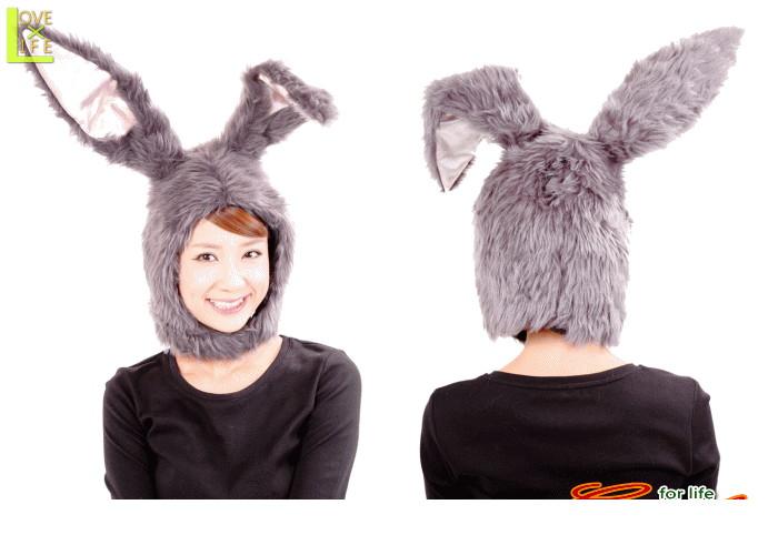 もふもふうさたん グレーウサギ うさぎ ラビット かぶりもの 仮装 優先配送 ☆AOIコレクションのコスプレ 大 いつでも送料無料 衣装 もふもふ素材のかわいいかぶりもの コスチューム パーティ