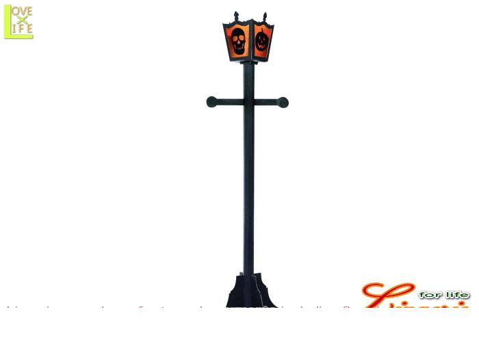 グッズ 68R750 ビッグ ランプ ポスト街灯 光る オブジェ パーティ ハロウィン ビッグサイズの街灯!怪しい雰囲気♪☆AOIコレクションのパーティグッズ♪パーティーグッズ パーティ グッズ おもちゃ   大