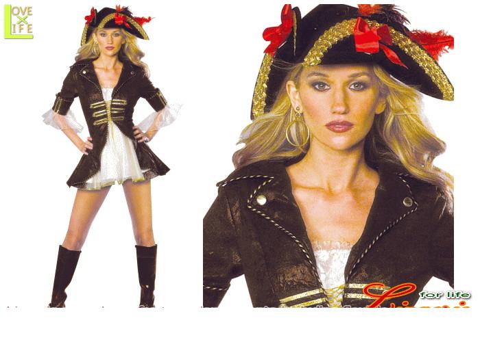 レディ 88R8543 パイレーツ キャプテン ベイベーパイレーツ 海賊 バイキング 仮装 コスプレ 女海賊が華麗に参上!みんなでキャプテンについて行こう♪☆AOIコレクションのコスプレ♪コスチューム