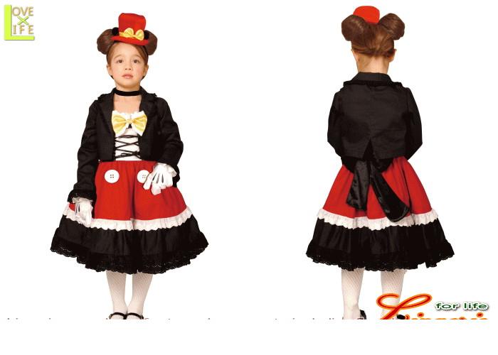 キッズ  95R078 チャイルド ミッキーマウス ゴシックキッズ  ディズニー Disney 仮装 パーティ ミッキーの衣装がかわくなって新登場♪☆AOIコレクションのコス♪コスプレ 衣装 コスチューム    大